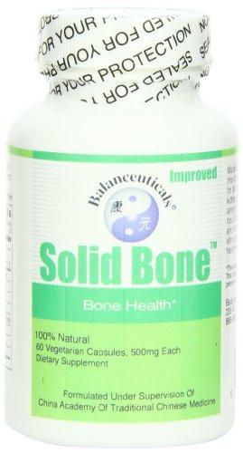 Balanceuticals sólido hueso suplemento dietético cápsulas, 500 mg, frasco de 60 cápsulas