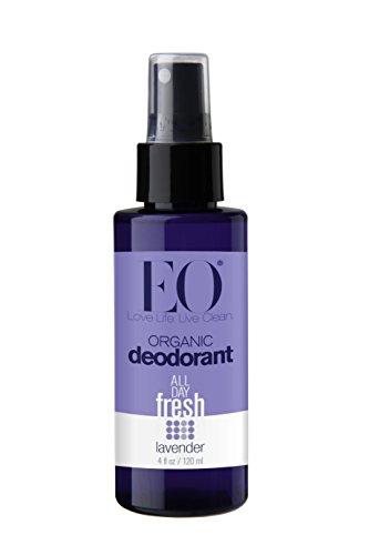 Aerosol del desodorisante orgánica EO, lavanda, 4 oz