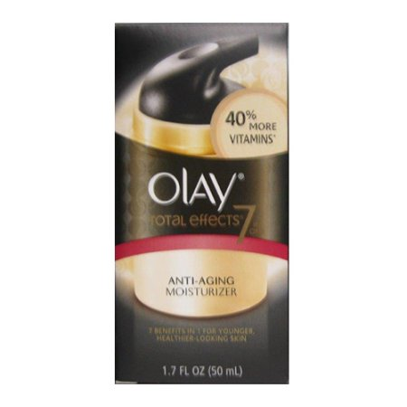 Olay Total Effects 7X visible contra el envejecimiento Vitamina Complejo, regular - 1,7 onzas, 3 Pack