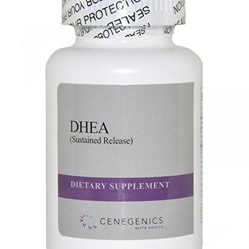 Cenegenics DHEA SR (liberación sostenida) 20mg, 30 hormona esteroide Natural botella de cuenta para apoyar la función inmune, función del cerebro y metabolismo energético