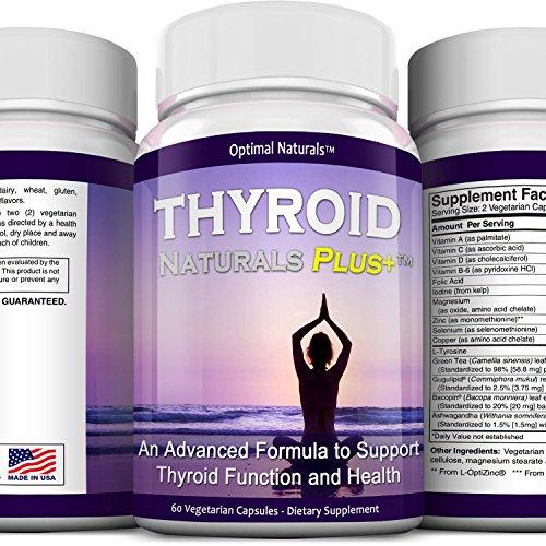 La tiroides ayuda suplemento • tiroides Natural complejo embalado con vitaminas esenciales y hierbas para apoyar un metabolismo sano, energía y pérdida de peso • evitar síntomas hipotiroideos • vegetariano y sin gluten