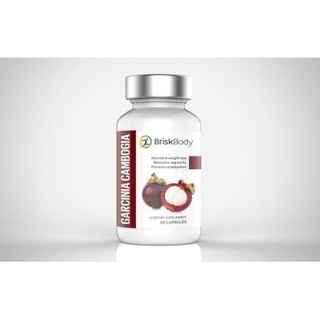 Brisk Body - 60% HCA extracto puro de la Garcinia cambogia - extra de fuerza - peso natural suplementos de pérdida - Bloqueador