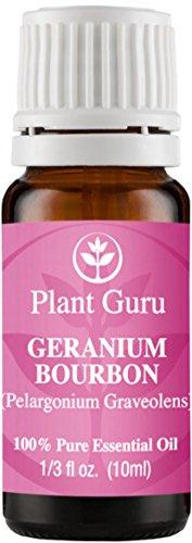 Geranio Bourbon aceite esencial 10 ml. 100% puro, sin diluir, terapéuticas grado.