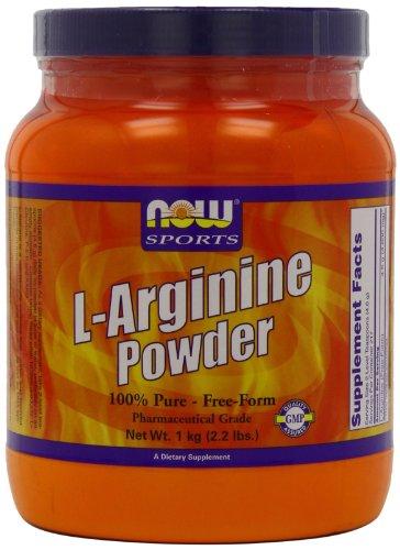 Ahora alimentos L-arginina polvo, 2,2 libras tina