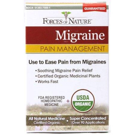 Forces of Nature Migraines Pain Management