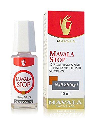 MAVALA Stop - ayuda a curar uñas morderse y succión, líquido de 0.3 onzas del pulgar