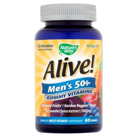 ¡Viva- Hombres 50- Gummy vitaminas 60 conteo