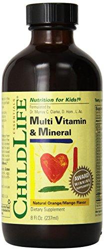 ChildLife multi vitaminas y minerales - 8 oz fl paquete de 3