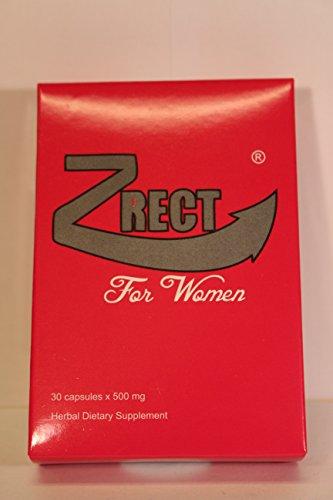 Zrect para las mujeres, potenciador de la Libido Natural, la píldora rosa