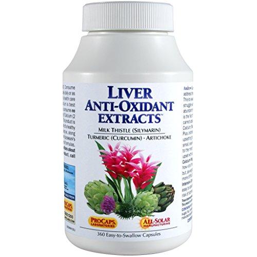 Extractos de hígado antioxidante 120 cápsulas