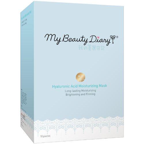 Mi diario de belleza hidratante mascarilla, ácido hialurónico, cuenta 10