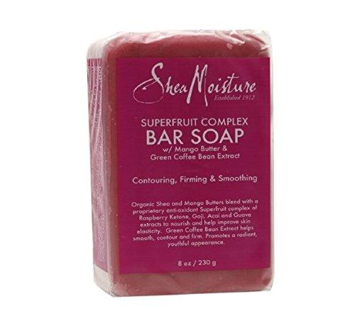 Jabón de barra de SheaMoisture, súper fruta 8 onzas (230 g)