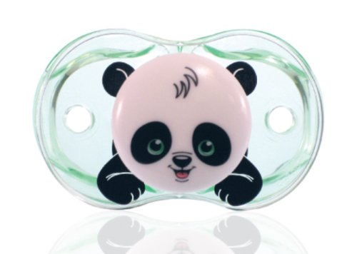Chupete RaZbaby Keep-It-Kleen, Panda de Panky