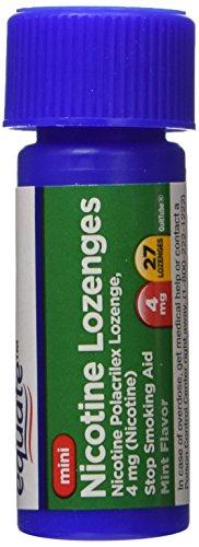 Equiparar la nicotina Mini pastilla 4mg ct 27 compara a Nicorette Mini pastilla
