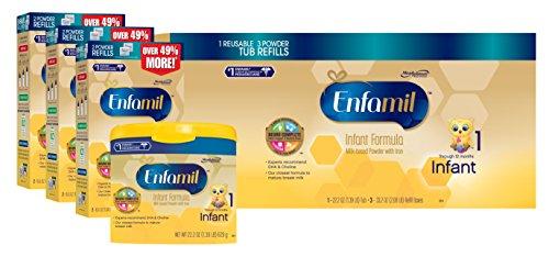 Fórmula para bebés Enfamil Infant - 121,8 oz polvo Combo Pack