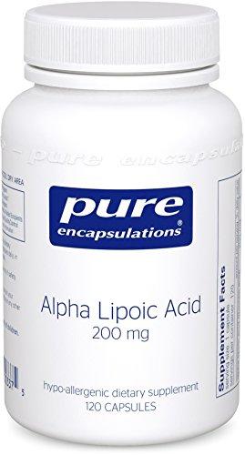Puros encapsulados - alfa lipoico 200mg ácido 120 VegiCaps