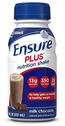 Asegurar más Nutrición Shake, leche Chocolate, 8 onzas, cuenta 16