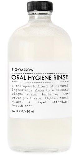 Higo + milenrama orgánicos higiene enjuague (16oz)