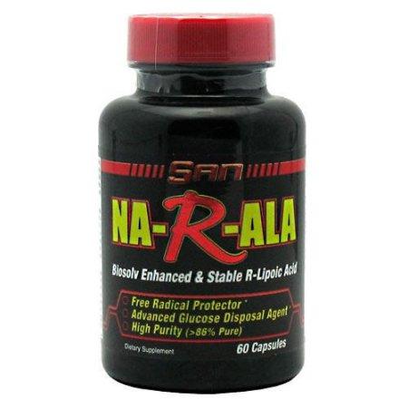 San Na-R-ALA ácido alfa lipoico 125 mg 60 Ct