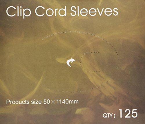 "125 de tatuaje Clip cable tapa desechables bolsas barrera limpia fuente de 2 ""x 45"""