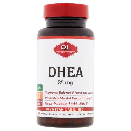 Olympian Labs DHEA Suplementos Dietéticos 25mg 90conteo