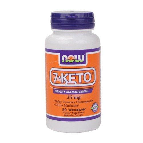 Ahora alimentos 7-KETO, 90 Caps, 25 mg