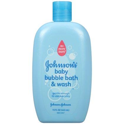 Baño de burbujas de bebé de Johnson, 15 onzas (paquete de 2)