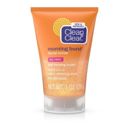 Clean - Clear Mañana Burst Limpiador Facial Para Cuidado de la Piel diarias rutinas 1 fl. Onz.