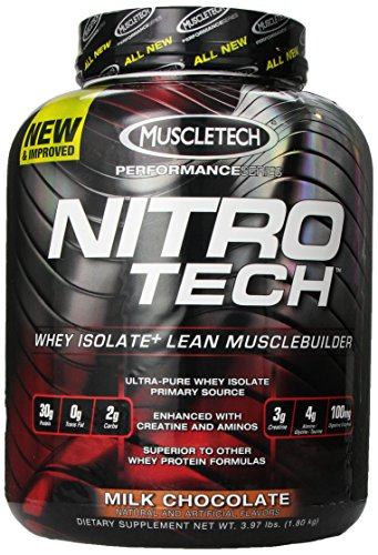 Muscletech Nitrotech Performance serie Chocolate con leche, libras 3,97