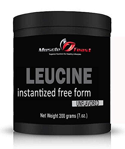 Hecho instantáneo L-leucina 200 gramos (7 onzas)