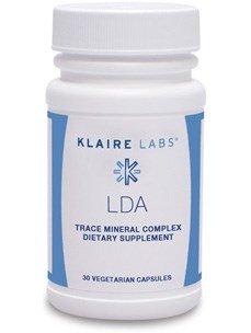 Klaire Labs - LDA rastro Mineral complejo 30 Vcaps