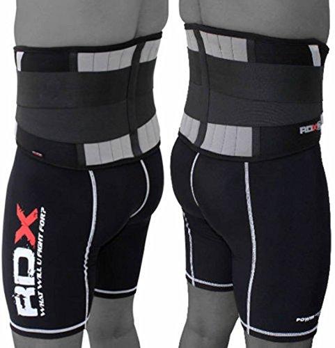 RDX gimnasio dolor alivio cinturón Lumbar inferior respaldo apoyo ejercicios entrenamiento Fitness pesas