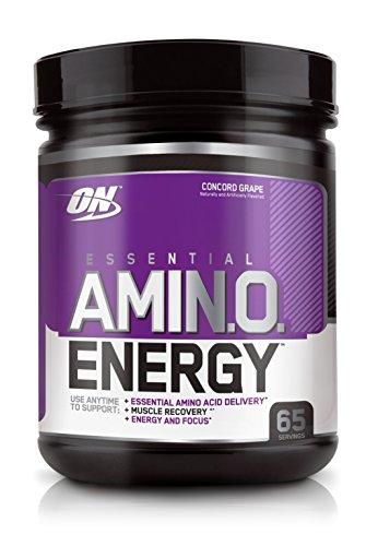 La nutrición óptima energía Amino, uva de Concordia, 65 porciones