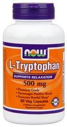 Ahora alimentos: L-triptófano 500 Mg, 60 Vcaps