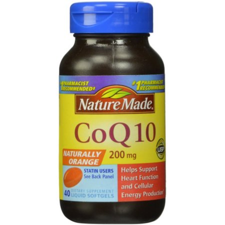 Nature Made CoQ10 200 mg Liquid Softgels 40 ea
