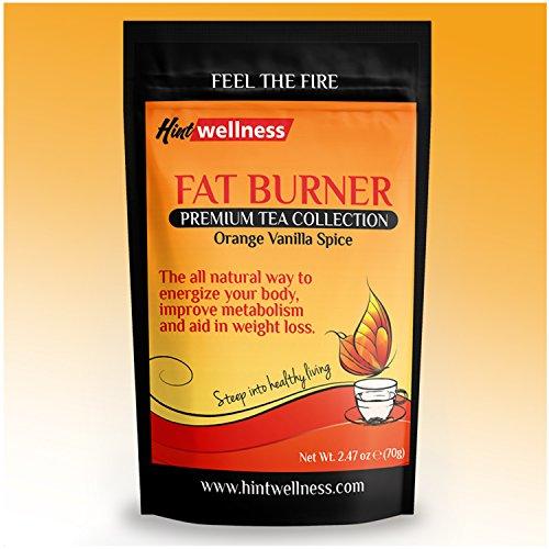 Mezcla de té de energía - para bajar de peso, utilizado como un quemador de grasa Natural por incremento del metabolismo