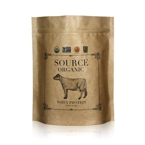 Fuente de proteína de suero orgánico - 100% Grass-Fed y acabado de la hierba - sin sabor - 2lb a granel