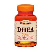 Sundown Naturals Sundown Naturals Dhea, 60 comprimidos 50 mg (paquete de 3)