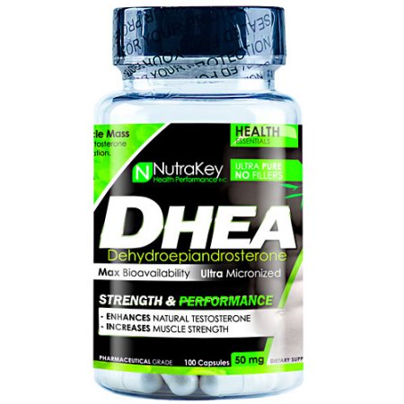 Nutrakey DHEA 100 Cápsulas - 100 cápsulas (50 mg)
