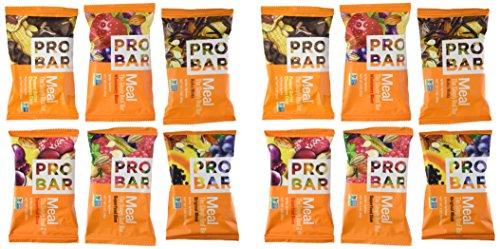 Probar comida Bar variedad paquete de 12