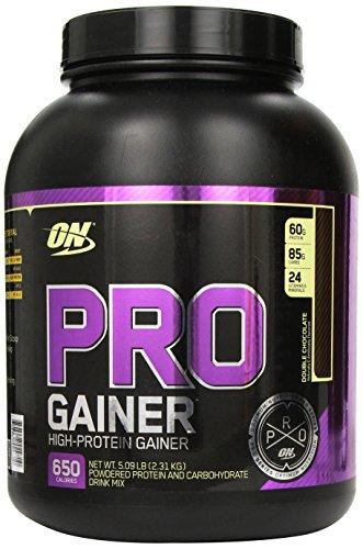La nutrición óptima Pro complejo Gainer Db 5.08 Chocolate Lb peso Gainer