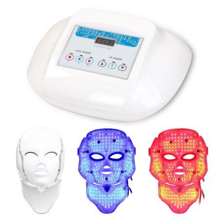 Máscara LED Magic Light Terapia de rejuvenecimiento de la piel contra el envejecimiento facial de la máscara 3 colores