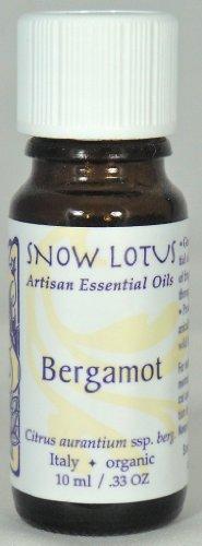 Lotus bergamota aceite esencial orgánico de nieve 10 ml