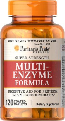 Pride fuerza Super enzima Multi-120 cápsulas de Puritan