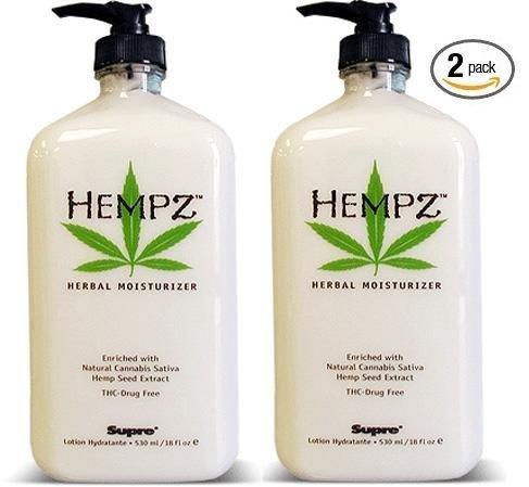 Hempz Herbal humectante 17 Oz 2 Pack