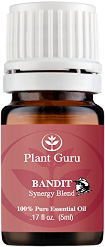 Bandido sinergia mezcla de aceites esenciales 5 ml. - 100% puro grado terapéutico (Comparable a mezcla de Young Living ladrones & DoTerra guardia ON)