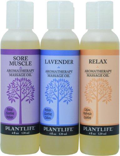 Vegetación aromaterapia masaje aceite-3 Pack