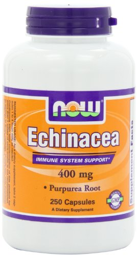 AHORA alimentos Echinacea 400mg, 250 Vcaps