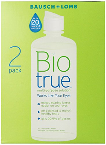 Biotrue solución multipropósito, 10 oz Twin Pack