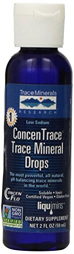 Traza minerales traza Concentrace minerales gotas, 2 onzas